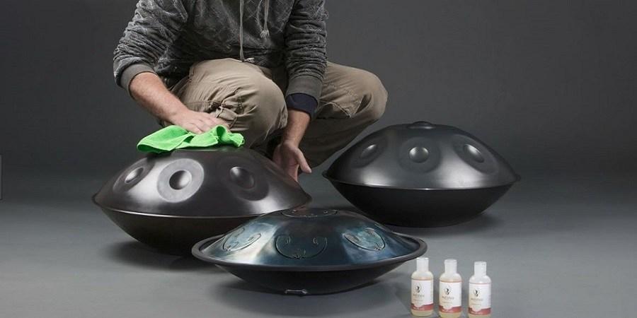 Cuidados y mantenimiento del handpan con aceites