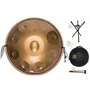 Hang drum As Teman 9 Notas